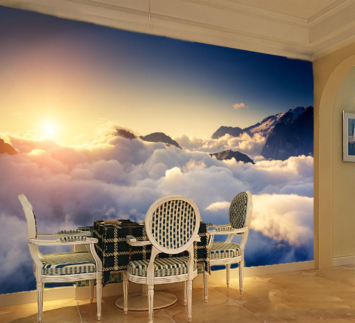 Yegua Nubium 5 3D Impresión De Parojo De Papel De Parojo Calcomanía Decoración De Parojo Parojo Interior murales