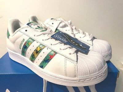 the best attitude 99afc 920ae New, Tagged ADIDAS SUPERSTAR Rare Tropical Stripes Youth 3.5 Women 5 1/2  5.5 | eBay
