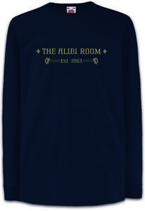 ALIBI-ROOM-Kinder-Langarm-T-Shirt-Pub-Ireland-Bar-Lip-Phillip-Shameless-Frank