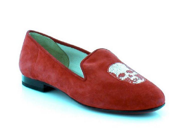 Kardinale by Fernando Pensato Skull Women's Flats & Oxfords Size 9 Eur 39.5