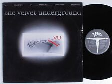 VELVET UNDERGROUND VU: Collection of Previously Unreleased Recordings LP VG++