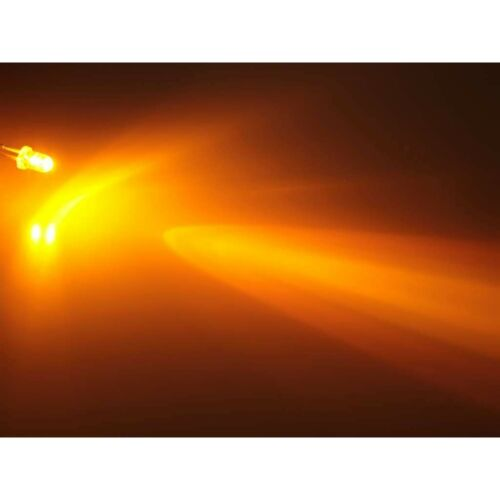 100 stk.a0212 amarillo Yellow LEDs 3mm súper brillantes 3000mcd LED diodos luminosos diodo