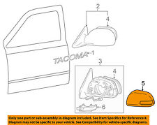 Scion TOYOTA OEM iQ Door Side Rear View Mirror-Cover Cap Trim Left 8794574010P0