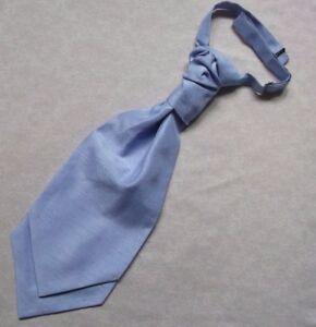 100% De Qualité Formel Cravate Homme Mariage Chouchou Ruché Pré Tied Ajustable Bleu Pâle-afficher Le Titre D'origine Belle En Couleur