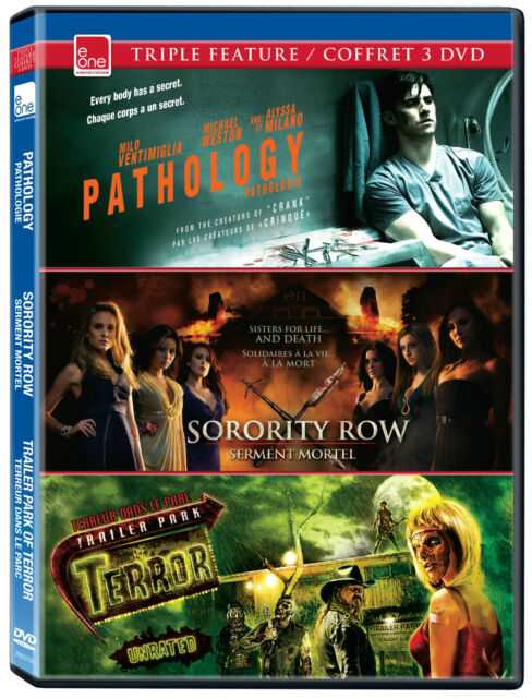 Pathology/Sorority Row/Trailer Park of Terror/BRAND NEW TRIPLE FEATURE,E ONE ENT