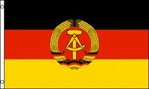 3 x5 east germany communist flag german democratic weimar republic
