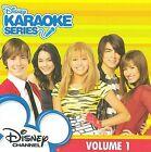 Disney Karaoke: Disney Channel, Vol. 1 * by Disney's Karaoke Series (CD, Jun-2009, Walt Disney)