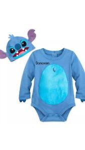 NWT-Disney-Store-Lilo-amp-Stitch-Baby-Bodysuit-18-24-Months-Stitch-Costume