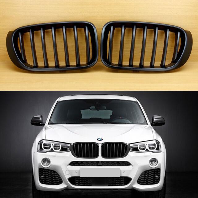 2014-2018 Fit BMW F26 X4 SUV Matte Black Front Hood Grille