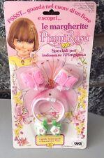 1983 Hasbro Charmkins Butterfly Barrettes & Flower Bracelet# Mosc