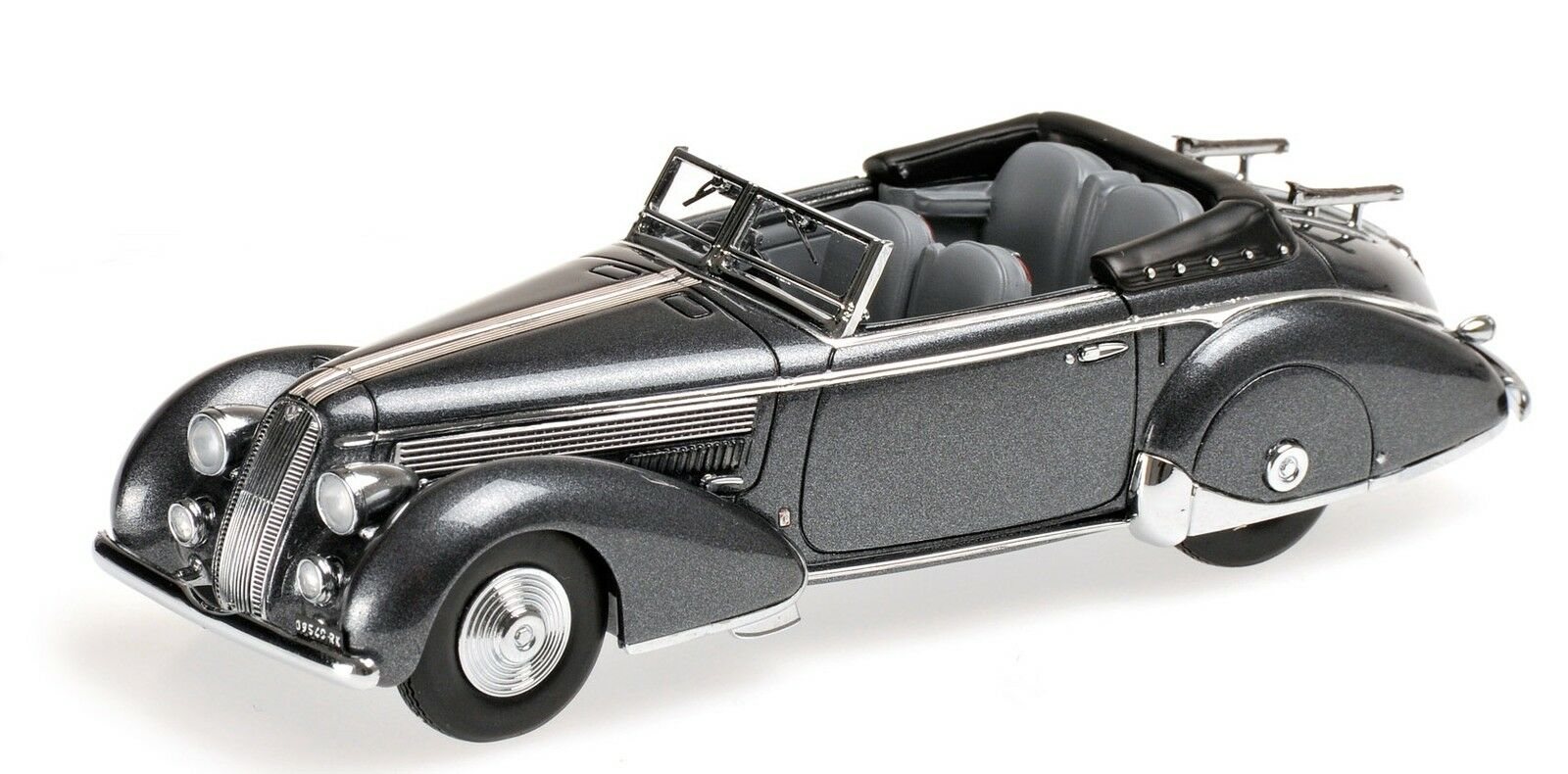 Lancia Astura Tipo 233 Corto 1936 Grey Metallic 1 43 Model MINICHAMPS