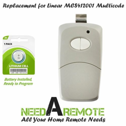 MCS412001 300Mhz For Linear Multicode #4120 Gate//Garage Remote