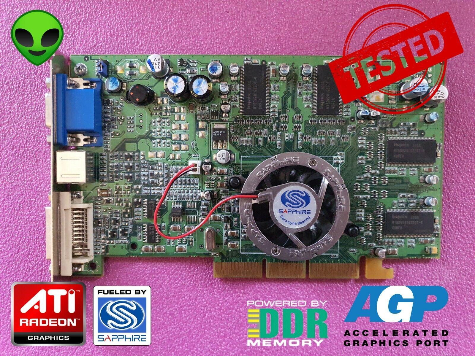AGP Video Card 8x ATI Radeon 9000 Pro 128 mb DDR Sapphire
