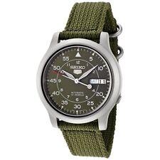 Seiko 5 Military SNK805 K2 Automatic Green Dial Nylon Strap Watch Meet ups Ship