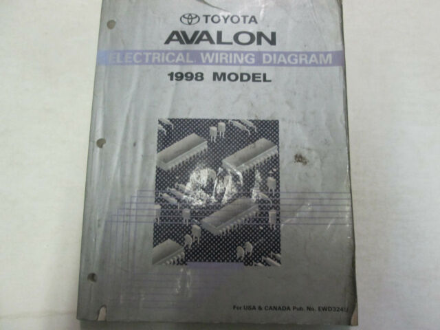 1998 Toyota Avalon Electrical Wiring Diagrams Workshop