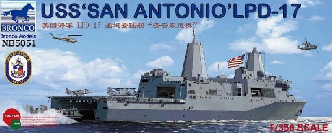 Bronco 1 350 5051 USS San Antonio LPD-17