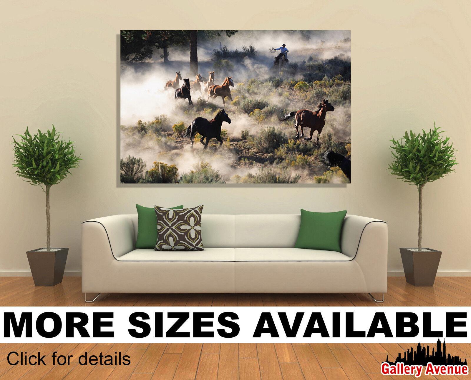 Wall Art Canvas Picture Print - Beautiful Mountain Lake Scene 3.2