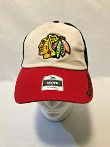 Chicago-Blackhawks-Embroidered-Logo-NHL-Hockey-Adjustable-Hat-Cap