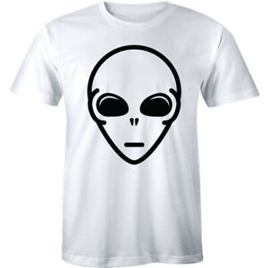 Funny t shirt sci fi space horror retro fashion Alien Face Thumb Print T-Shirt