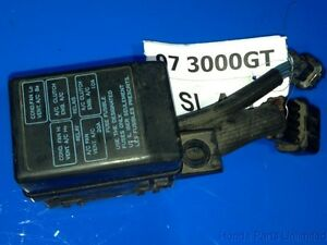 97 99 mitsubishi 3000gt oem mini under hood fuse box with a c clutch rh ebay com