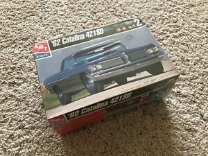 1962-Pontiac-Catalina-421-Super-Duty-SD-Model-Car-Kit-NEW-Sealed-AMT-ertl-1-24