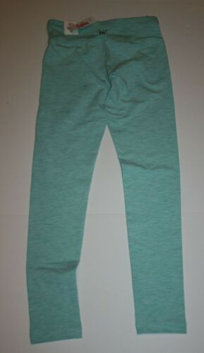 NEW Justice Girls Heather Green Leggings Pants 8 10 12 14 16 20 24 Stretch