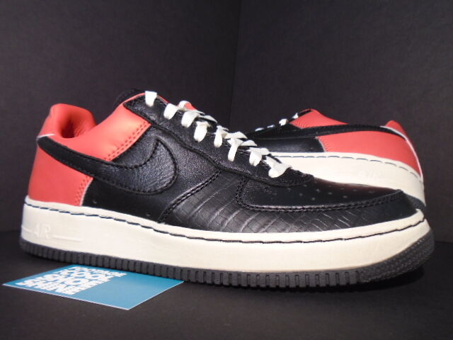 06 Nike Air Force 1 Low INSIDEOUT IO UN-MITA UNMITA BLACK MAX ORANGE RED GOLD 11