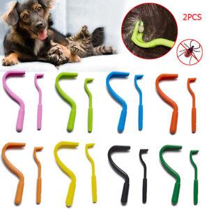 Puppy Twist Hook Flea Remover Pet Cats Tick Clip Tools Dogs Beauty Accessories