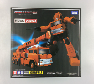 NEW TRANSFORMERS TOY TAKARA MASTERPIECE MP-35 KO GRAPPLE CRANE IN STOCK