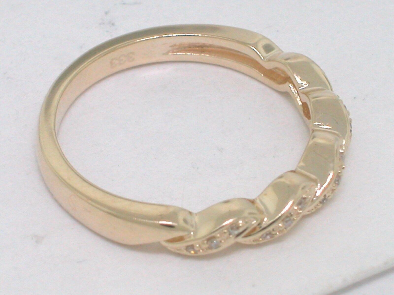 Anello DIAMANTE GIALLO oro 15 diamanti diamanti diamanti Total 0 10ct 198bdf