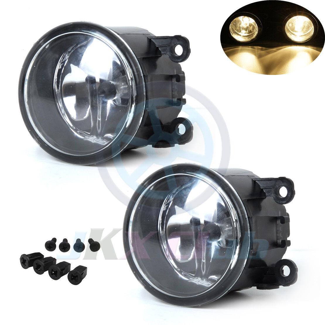 DNA Motoring FL-OEM-0103 1Pc LH//RH Fog Light//Lamp For 06-12 Mitsubishi Eclipse//Endeavor
