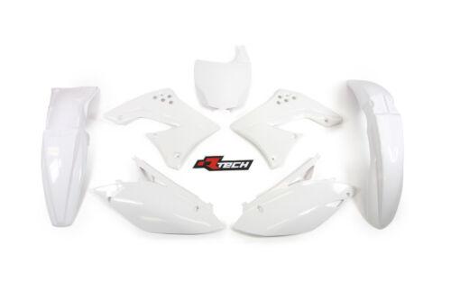 Kawasaki KX450F 2009 2010 2011 White Plastic Kit
