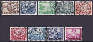 DR-Mi-Nr-499-507-mit-505-B-TOP-rund-gest-Peine-etc-Wagner-Nothilfe-1933