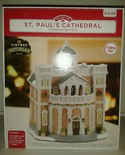 St. Paul's Cathedral by Holiday Time Vintage Victorian 2015 Lemax