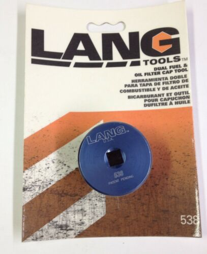 Dual Fuel And Oil Filter Cap Tool For Ford