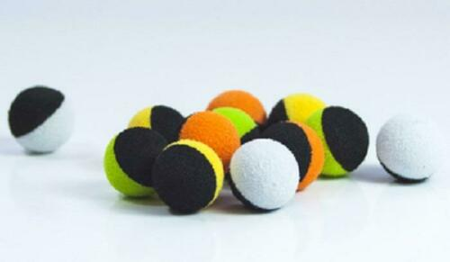 10mm PROLOGIC FOAM TWIN COLOUR BALLS ZIG FISHING CARP SNOWMAN RIG POP UP FLOATS
