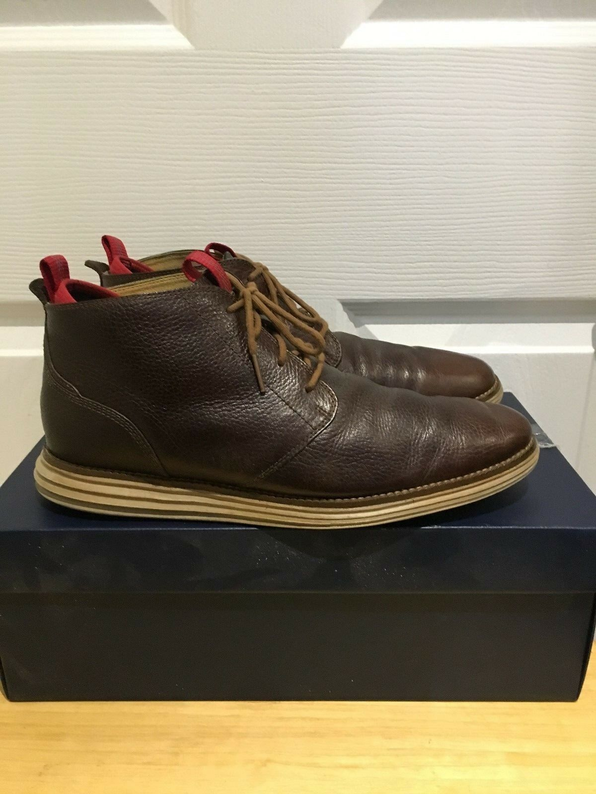 Cole Haan Original Grand Chukka Boots Men's Shoes Size 9.5 - Brown