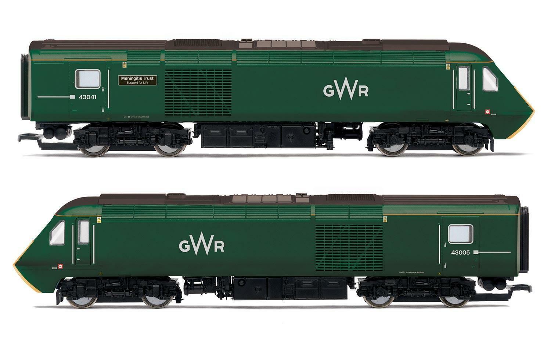 Hornby R3685 Gwr Clase 43 Hst Pack Tren Menigitis Trust 43041 43005 - Era 11