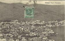 Italy OFFICE in AEGEAN- CALIMNO Sc#2 KALIMNO 19/FEB/1913 postcard view