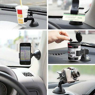 Universal 360 Rotating Car Windshield Mount Holder Stand for Mobile SmartPhone