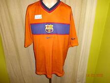 "FC Barcelona Original Nike Auswärts Trikot 1998-2000 ""ohne Hauptsponsor"" Gr.XL"