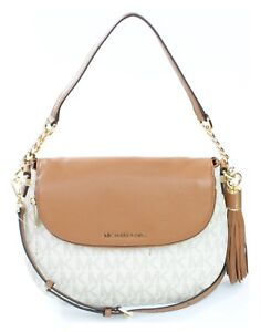 3fa361abb4c9 Image is loading Michael-Kors-Bedford-Large-Tassel-Convertible-Shoulder-Bag-