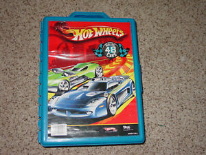 2009-Hot-Wheels-Diecast-Vehicle-Carry-Case-Holds-48-Cars-20020