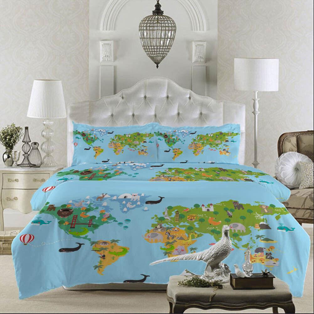verde Camouflage 3D Printing Duvet Quilt Doona Covers Pillow Case Bedding Sets
