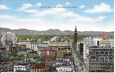 Retail Section Denver CO nice postcard not postally used Mobilgas & Phillips 66