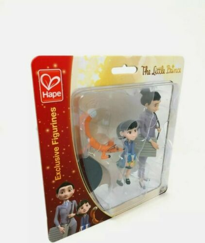 Details about  /HAPE THE LITTLE PRINCE FIGURINES GIRL FOX WITH STANDS TOY FIGURE FREE SHIPPING