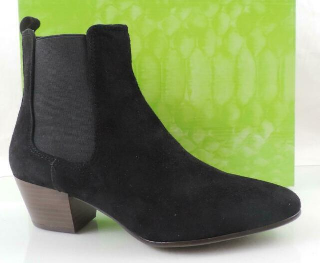 Ankle Boots Booties Suede Black