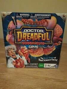Doctor Dreadful Scabs N' Cuts Board Game  NEW IN BOX-SpinMaster (Halloween Game)