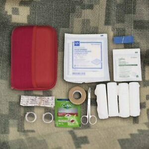 IFAK, Individual First Aid Kit, Minimalist Edition, 32 Pieces