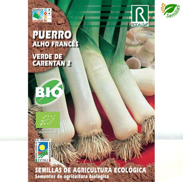 Puerro Grueso Carentan Ecológico ( 3 gr / 900 semillas ) seeds Eco Ecologicas